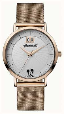 Ingersoll Womens Union The Disney Mesh Strap Silver Dial ID00504