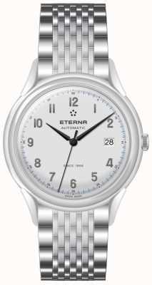Eterna Mens Heritage 1948 Automatic Steel Mesh 2955.41.14.1741