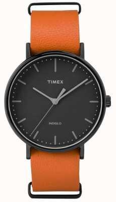 Timex Unisex Weekender Fairfield Black Dial TW2P91400