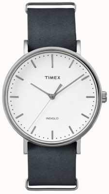 Timex Unisex Weekender Fairfield White Dial TW2P91300