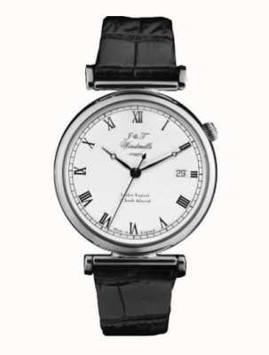 J&T Windmills Men's Bartholomew Mechanical Watch Sterling Silver WGS10000/08