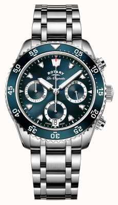 Rotary Mens Swiss Made Legacy Dive Chronograph GB90170/05