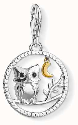 "Thomas Sabo ""NIGHT OWL"" Charm Pendant 1392-427-11"