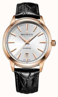 Dreyfuss 1890 Men's Rose Gold Plated Automatic DGS00162/02