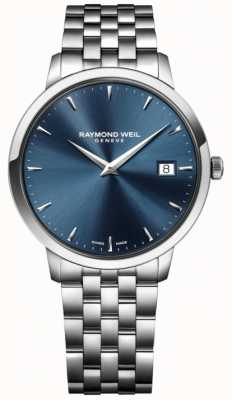 Raymond Weil Mens Quartz Movement Stainless Steel Blue 5488-ST-50001