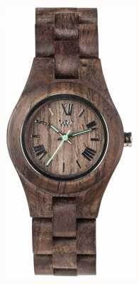 WeWood Womens Criss Choco Rough Wooden Strap 70210511