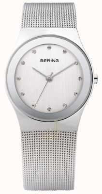 Bering Womans Silver Mesh Watch 12934-000