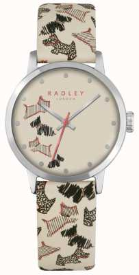 Radley Fleet Street Cream Leather Strap RY2367