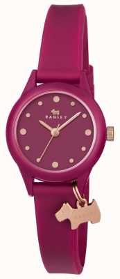 Radley Watch It! Ruby Silicon Strap RY2438
