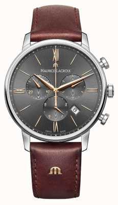 Maurice Lacroix Mens Eliros Chronograph Grey EL1098-SS001-311-1