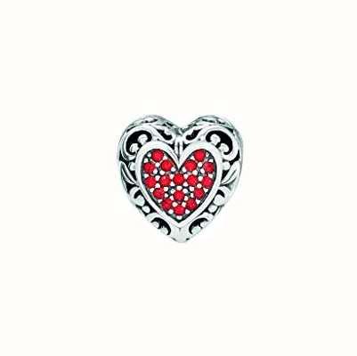 Chamilia | Disney Beauty and the Beast | Belles Heart Charm | 2025-2163