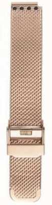 Bering Womans Milanese Rose Gold Mesh Strap PT-15531-BMVX