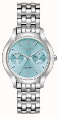 Citizen Ladies Eco-Drive Silhouette Chandler Blue Dial Watch FD4010-57L