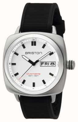 Briston Mens Clubmaster Sport Steel HMS White 16342.S.SP.2.RB