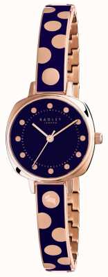 Radley Womans Kennington Spot Enamel Blue RY4270