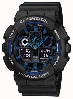 Casio Mens G-Shock Alarm Chronograph Blue GA-710-1A2ER
