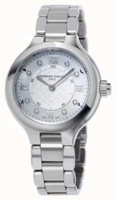 Frederique Constant Womans Delight Horological Smartwatch Silver FC-281WHD3ER6B