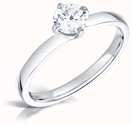 Certified Diamond 0.40ct H SI1 IGI Diamond Engagement Ring FCD28381