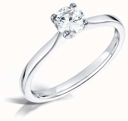 Certified Diamond 0.30ct D SI1 GIA Diamond Engagement Ring FCD28345