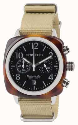 Briston Clubmaster Classic Acetate - Chronograph Tortoise Shell Blac 13140.SA.T.1.NK