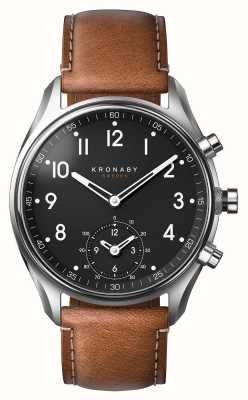 Kronaby 43mm APEX Bluetooth Brown Leather A1000-0729 S0729/1