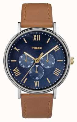 Timex Men's Southview Multifunction Chronograph Brown TW2R29100
