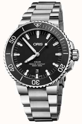 Oris Aquis Date Automatic Stainless Steel Black Dial 01 733 7730 4145-07 8 24 05PEB