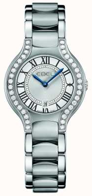 EBEL Womens Beluga Diamond Stainless Steel 1216069