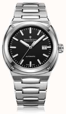 Dreyfuss Mens Automatic Stainless Steel Bracelet DGB00154/04