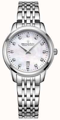 Dreyfuss Womans 1890 Mother Of Pearl Dial DLB00125/41/D