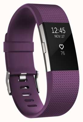 Fitbit Charge 2 - Plum, Small FB407SPMS-EU