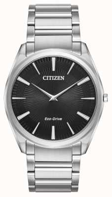 Citizen Mens Eco-drive Stiletto Ultra Thin Stainless Steel AR3070-55E