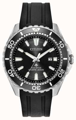 Citizen Mens Eco-drive Promaster Divers Rubber Strap BN0190-07E