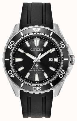 Citizen Mens Eco-drive Promaster Divers Rubber Strap BN0190-07E