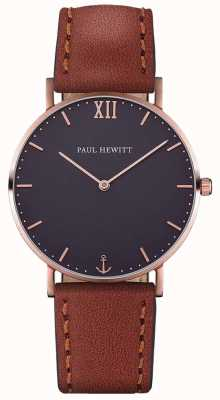 Paul Hewitt Unisex Sailor Brown Leather Strap PH-SA-R-ST-B-2M