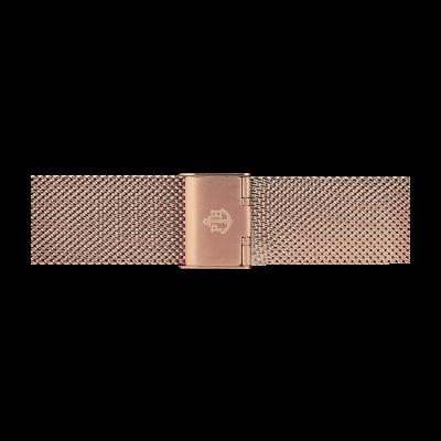 Paul Hewitt Rose Gold Stainless Steel Mesh Bracelet 186mm PH-M1-R-4M