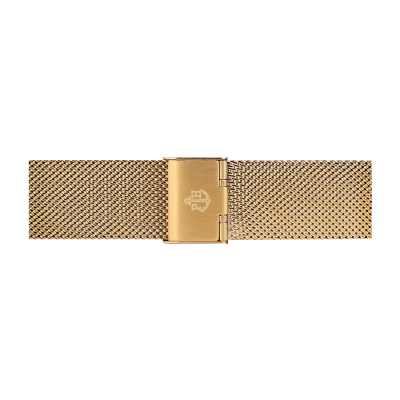 Paul Hewitt gold stainless steel mesh strap size m PH-M1-G-4M