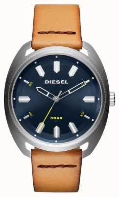 Diesel Mens Fastbak Tan Leather Watch DZ1834
