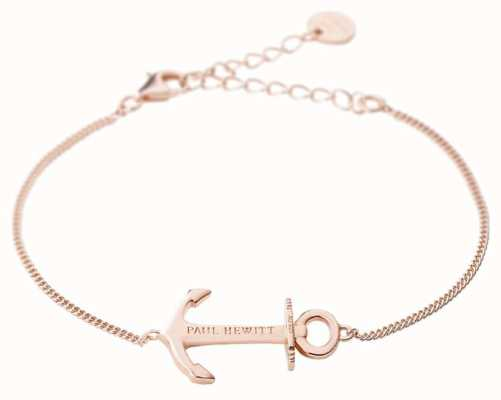 Paul Hewitt Jewellery Anchor Spirit Rose Gold Bracelet PH-AB-RG