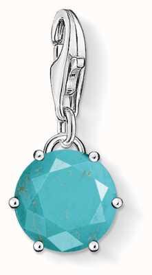 Thomas Sabo Turquoise Stone Charm 1473-404-17