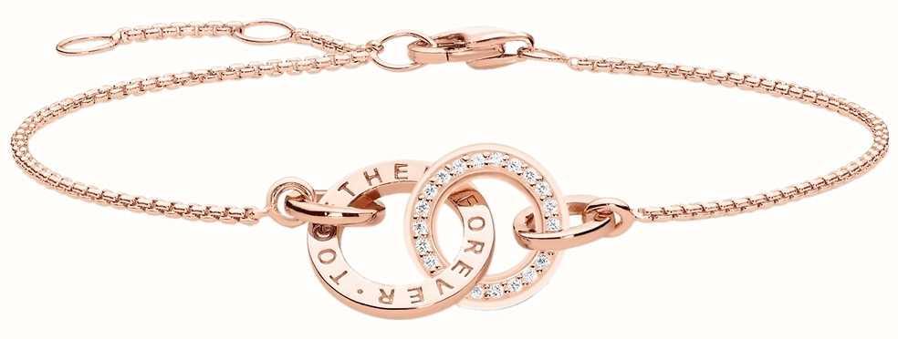 Thomas Sabo Glam And Soul Rose Gold Together Bracelet A1551-416-40-L19,5V