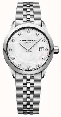 Raymond Weil Womens Freelancer Mother Of Pearl Dial 5629-ST-97081
