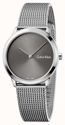 Calvin Klein Womans Minimal Watch Grey Dial K3M221Y3