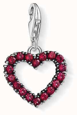 Thomas Sabo Red Heart Charm Pendant 1476-639-10