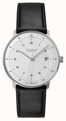 Junghans max bill Automatic | Black Calf Skin Strap 027/4700.04