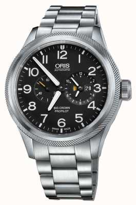 Oris Big Crown Propilot Worldtimer Stainless Steel 01 690 7735 4164-07 8 22 19-1