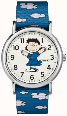 Timex Blue Strap Lucy Watch TW2R413006B