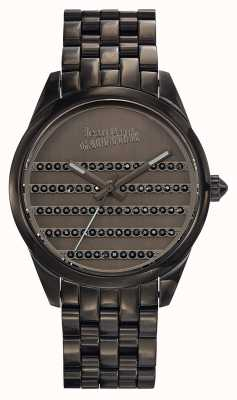 Jean Paul Gaultier Navy Gun Metal Bracelet And Dial JP8502406