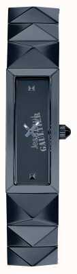 Jean Paul Gaultier Womens Mini Punk Blue Stainless Steel Blue Dial JP8504004