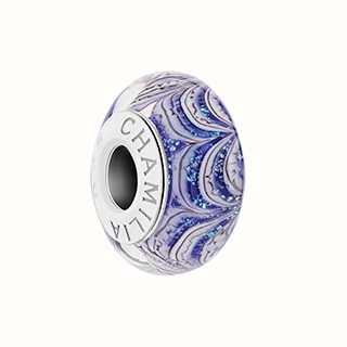 Chamilia Jack Frost Purple Pattern Charm 2110-1294